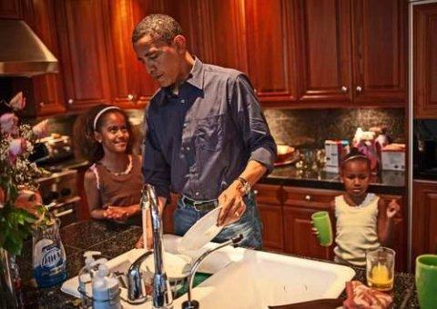 """Şəxsi fotoqrafdan """"xəyanət"""" – Obamanın yeni fotoları"""