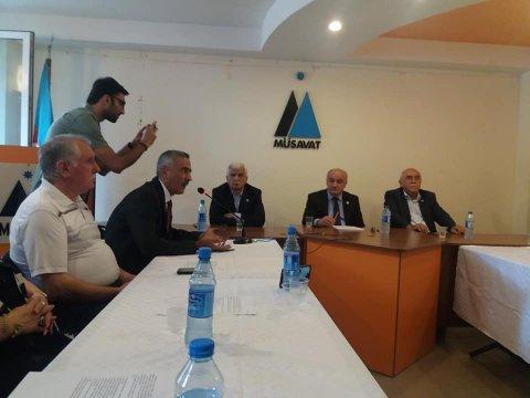 AXCP və REAL  rəhbərliyi Müsavatda toplandı - Seçki müzakirəsi
