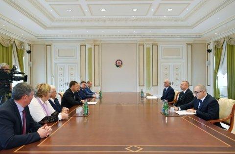 Prezident Sverdlovsk vilayətinin qubernatorunu qəbul edib
