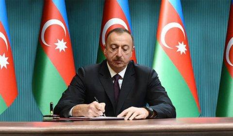 İlham Əliyev sərəncam imzalayıb
