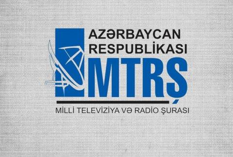 """MTRŞ: """"Özəl televiziyalarda şou və əyləncəli proqramlar çoxluq təşkil edir"""""""