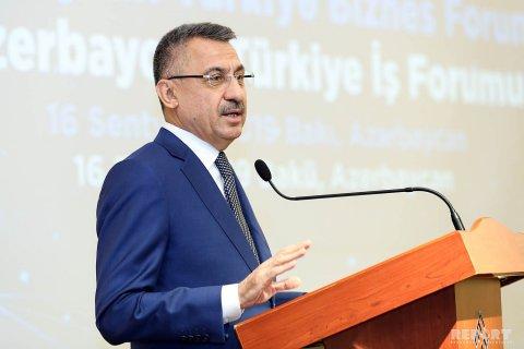 """Türkiyənin vitse-prezidenti: """"Paşinyanın Qarabağla bağlı dediklərini təəccüblə izlədik"""""""