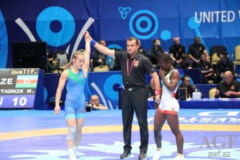 Dünya çempionatı: Mariya Stadnik finala yüksəlib