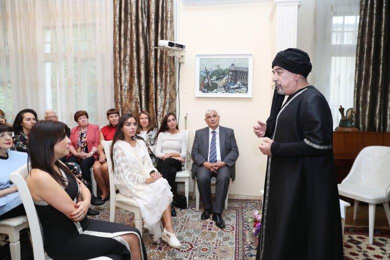 """""""LEYLA. FONS VITAE"""" poeziya tamaşası təqdim olunub"""