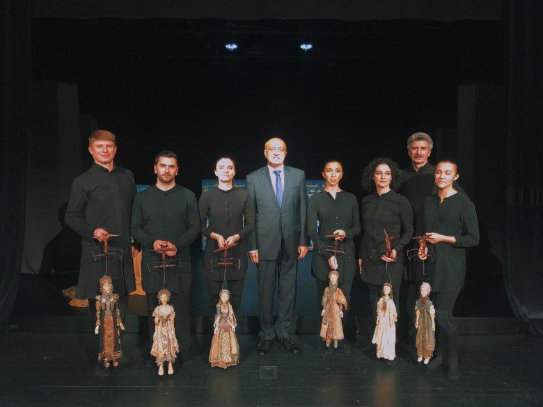 Marionet Teatrı Xorvatiyada keçirilən Beynəlxalq Marionet Festivalından qatılıb