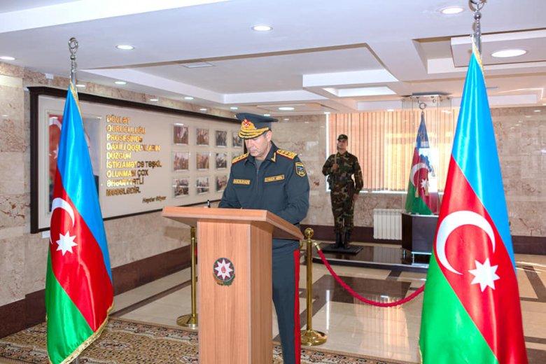 Vilayət Eyvazov hərbi hissədə tapşırıqlar verdi