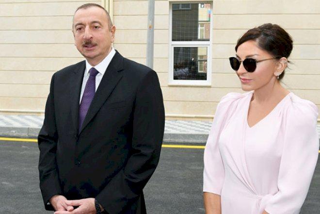"""Prezident və xanımı """"Qobu Park-2"""" yaşayış kompleksinin - Açılışında"""