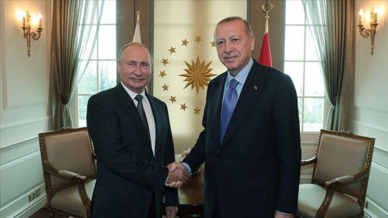 Ərdoğan Putini məlumatlandırdı - Suriyaya yeni hücumla bağlı