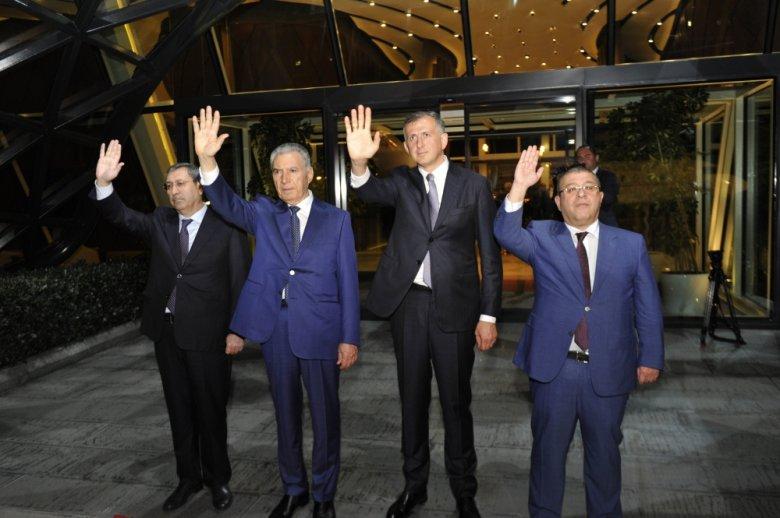 Nazir müavinləri Gürcüstanın Baş naziri Bakıdan yola saldı