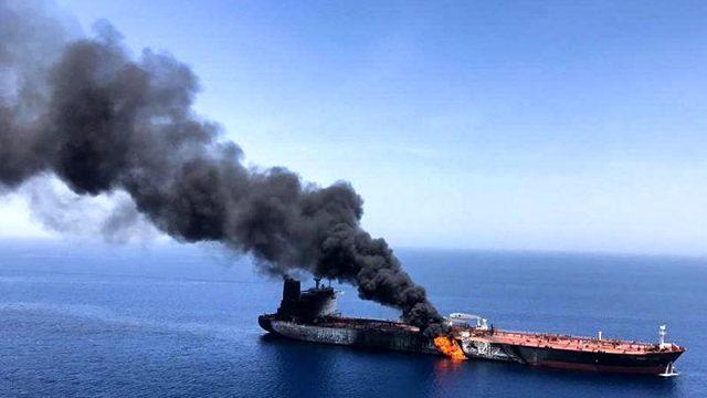 Səudiyyə Ərəbistanı ərazisində İrana məxsus neft tankeri vuruldu