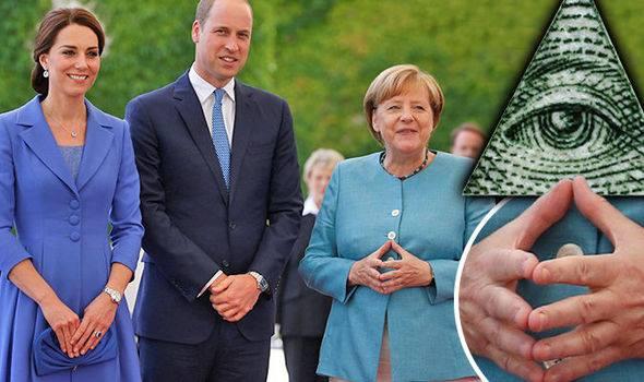 """Tramp, Merkel, Makron... – """"Bədən dili"""" onların gizli cəmiyyət üzvü olması iddiası doğurub"""
