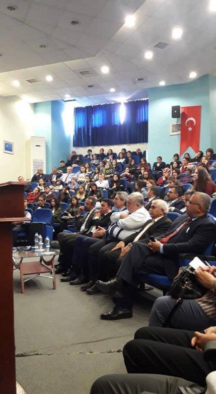 Pamukkale Universitetində Ermənistanın işğalçılıq siyasəti və Xocalı soyqırımından danışılıb