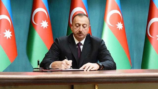 Prezident İlham Əliyev fərman imzaladı