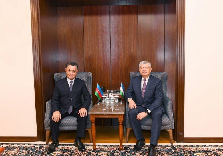 Ramil Usubov Özbəkistan Təhlükəsizlik Şurasının katibi ilə görüşüb