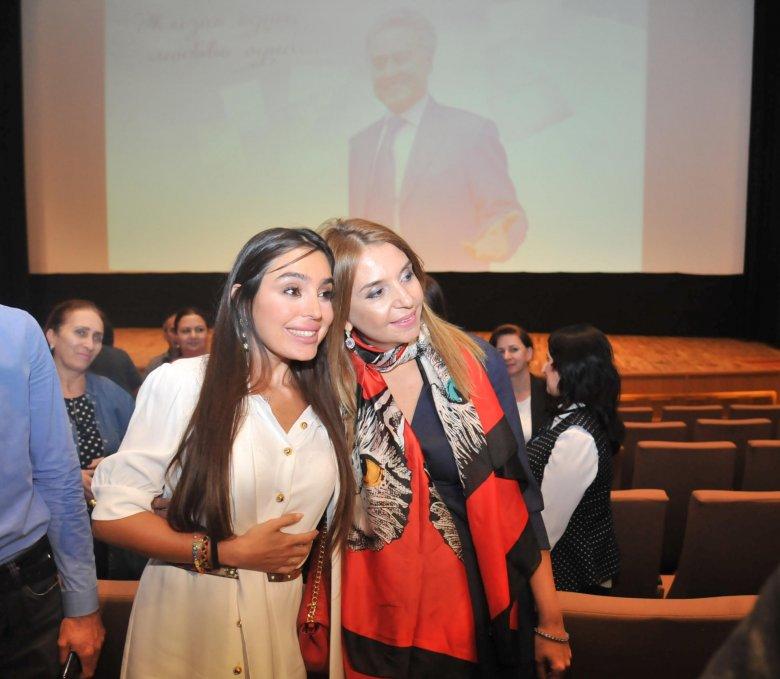 Leyla Əliyeva təqdimatda iştirak edib