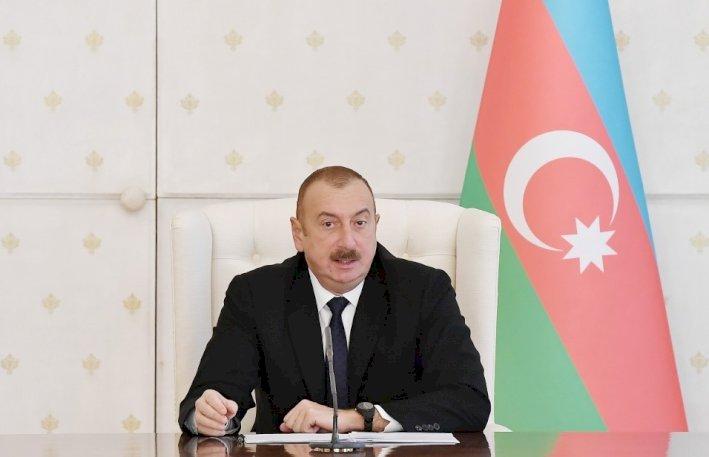 """İlham Əliyev: """"Məscidləri dağıdan Ermənistan müsəlman ölkələri ilə dost ola bilməz"""""""