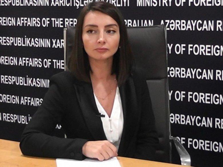 """Leyla Abdullayeva: """"Həmsədrlərin Qarabağa səfərinə Azərbaycan razılıq verib"""""""