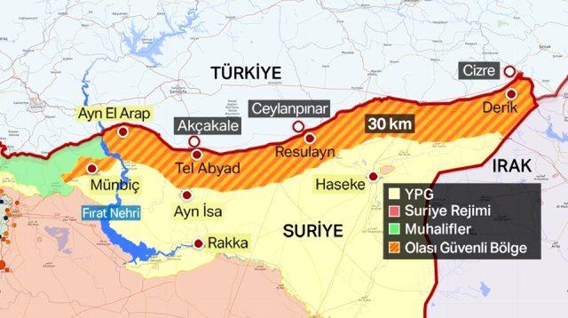 """""""Barış pınarı"""": 673 terrorçu öldürüldü"""
