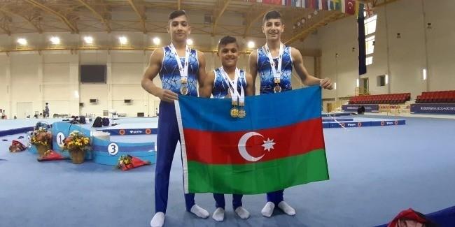 Azərbaycan gimnastları Tbilisidə medal qazanıblar
