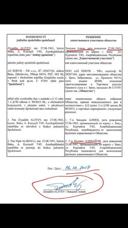 İcra başçısı təlaşa düşüb: Əliyev biznesini oğlunun adına sənədləşdirib