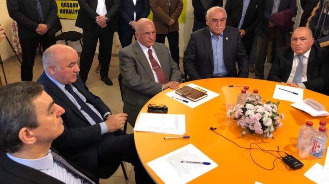 Mübariz Mənsimov Əli İnsanovun siyasi fəaliyyətindən şübhələnir