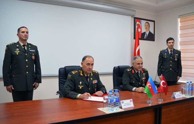Azərbaycanla Türkiyə arasında yeni hərbi protokol imzalanıb