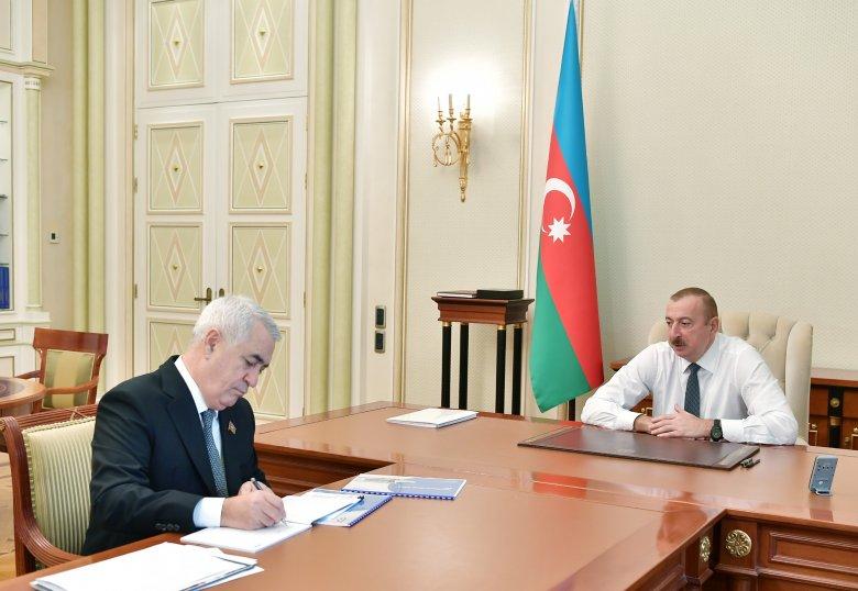 Prezident Cavid Qurbanova yeni tapşırıqlar verdi
