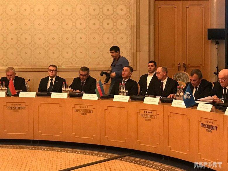 Ramil Usubov Moskvada Təhlükəsizlik Şurası katiblərinin görüşündə iştirak edib