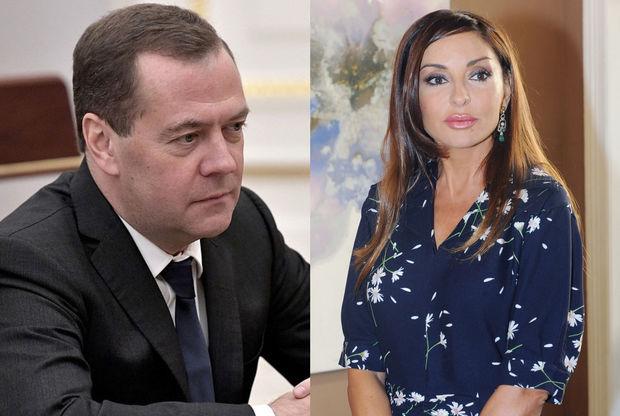 Mehriban Əliyeva Dmitri Medvedevlə görüşəcək