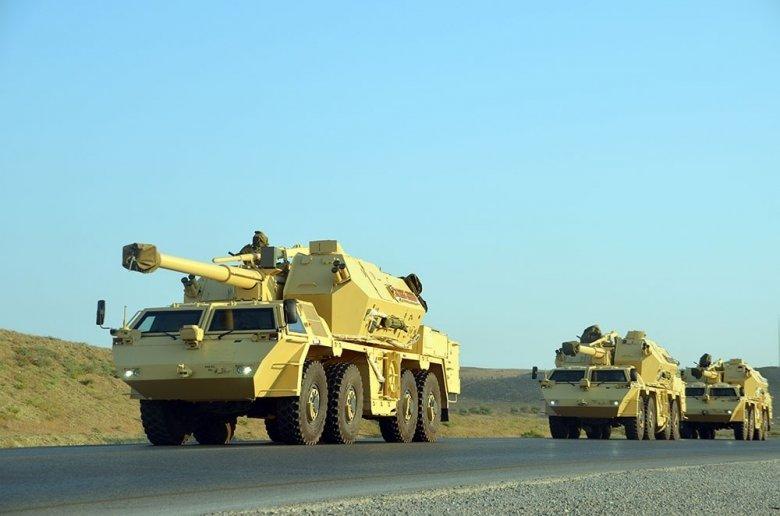 Azərbaycan Ordusunun raket-artilleriya bölmələrinin təlimləri başlayıb