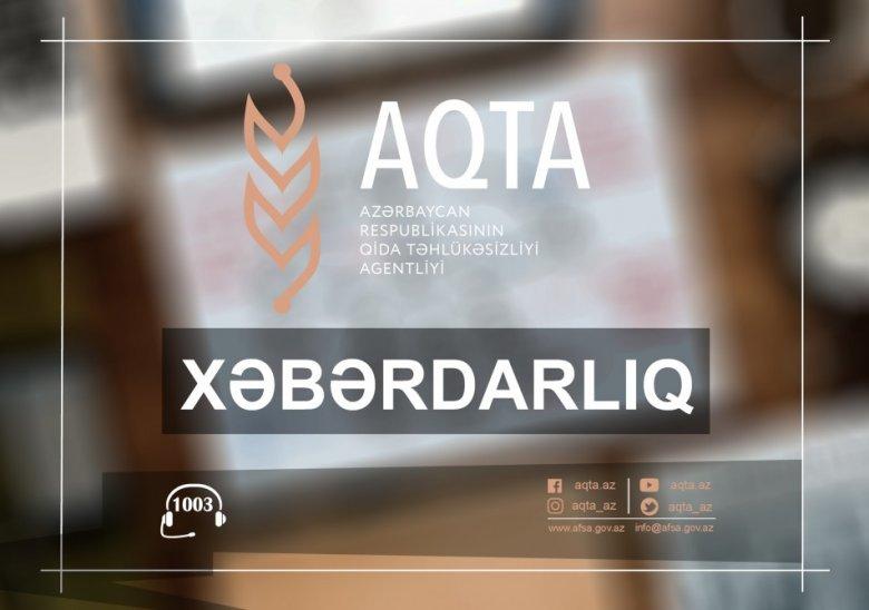 AQTA-dan balıq məhsullarının istehsalı və idxalı ilə məşğul olan sahibkarlara - Xəbərdarlıq