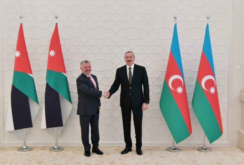 İordaniyanın Kralı Azərbaycana gəlib - Prezidentlə görüş olub