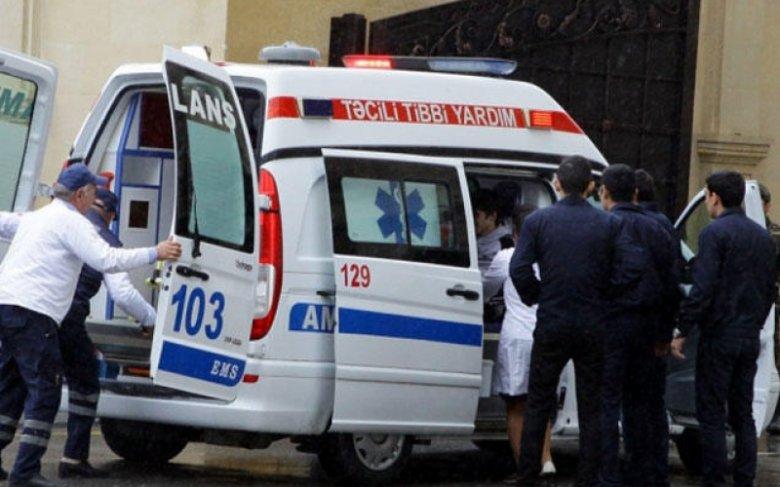 Bakıda avtobus qəzası: 6 yaralı var