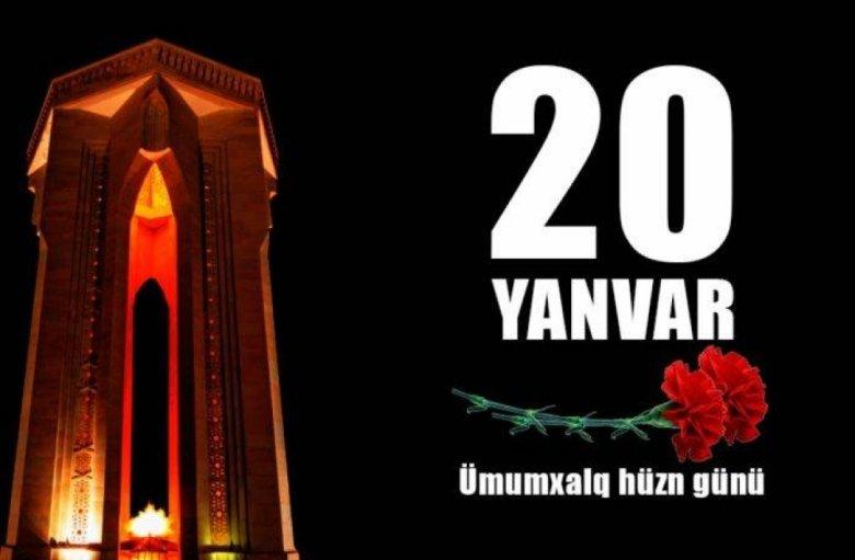 20 Yanvar – tariximizin qanlı və şanlı səhifəsi