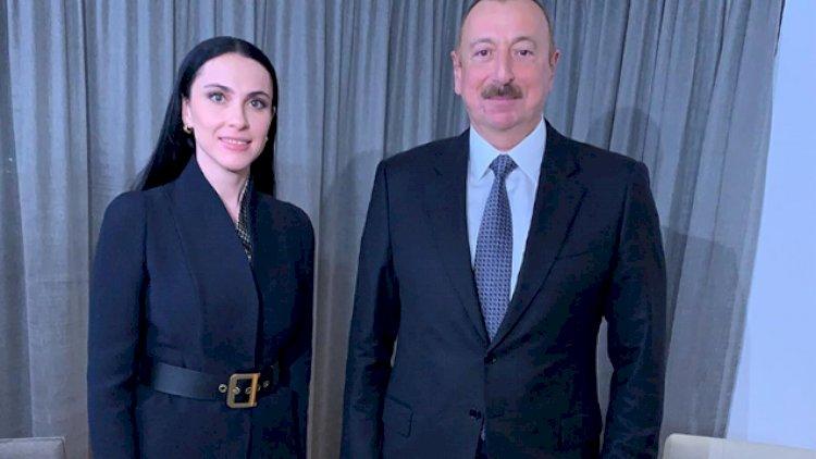 """Prezident Davosda """"Rossiya 1"""" telekanalına müsahibə verib"""