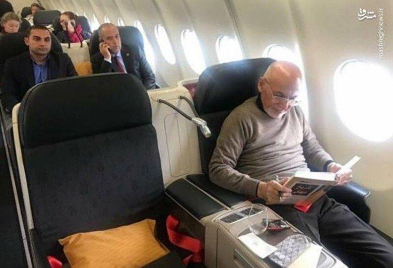 Əfqanıstan prezidenti Davosa gedərkən – Foto