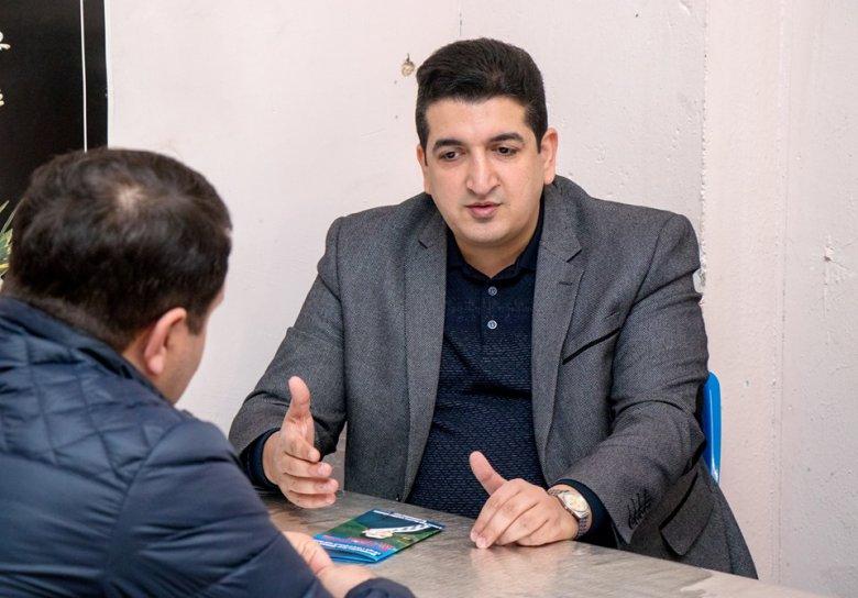 Cəbrayıllı gənclər Zaur Məmmədovu dəstəkləyir