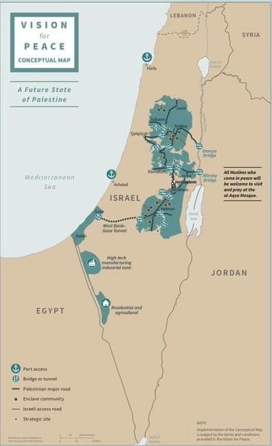 """Trampın """"Böyük plan""""ı: """"Qüds İsrailin bölünməz paytaxtı olacaq, Fələstinin ərazisi isə ikiqat artacaq"""""""