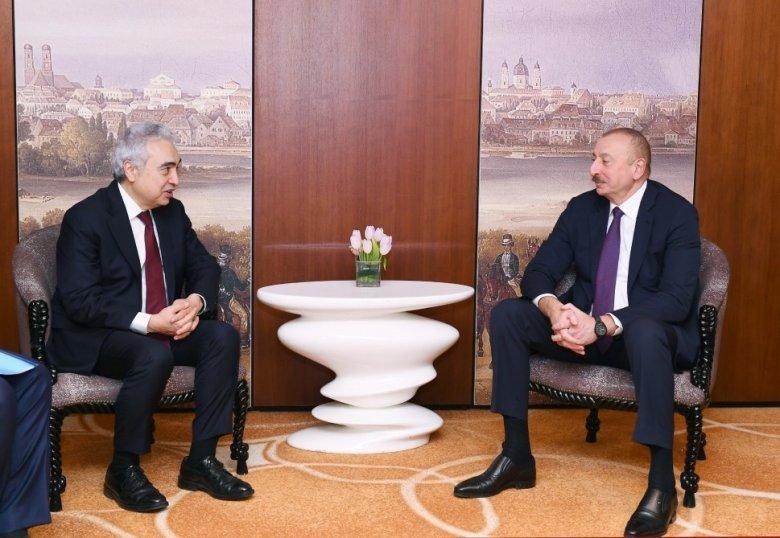 Prezident Beynəlxalq Enerji Agentliyinin icraçı direktoru ilə görüşdü