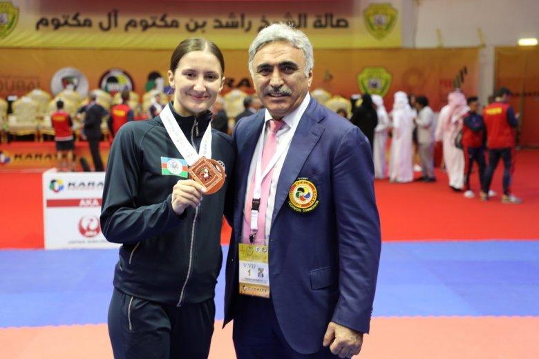 Azərbaycan karateçisi olimpiadaya lisenziya qazanıb
