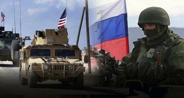 Suriyada ABŞ və Rusiya əsgərlərinin qarşıdurması - Video