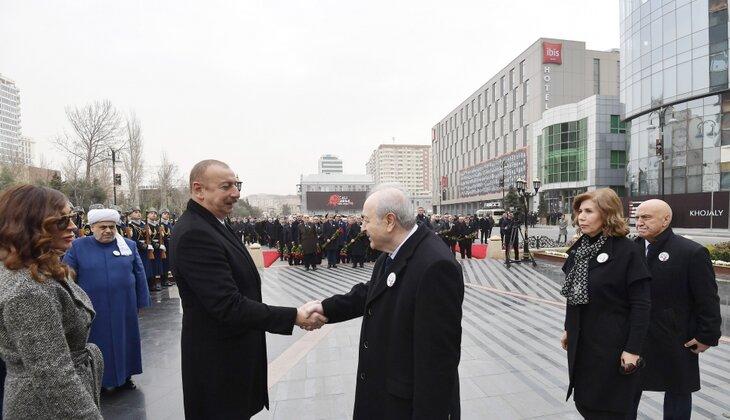 Prezident İlham Əliyev Ayaz Mütəllibovla görüşüb - Video