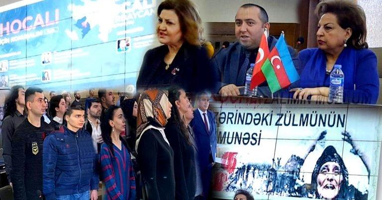 """Türkiyəli ziyalılar """"Xocalı üçün danışaq"""" dedilər"""
