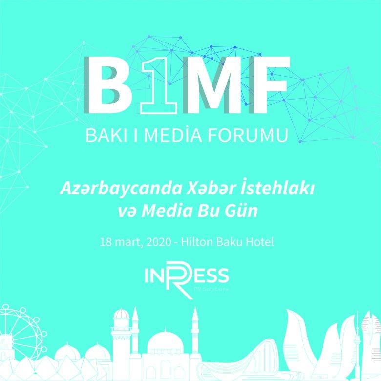 BakıdaMedia Forumu keçiriləcək