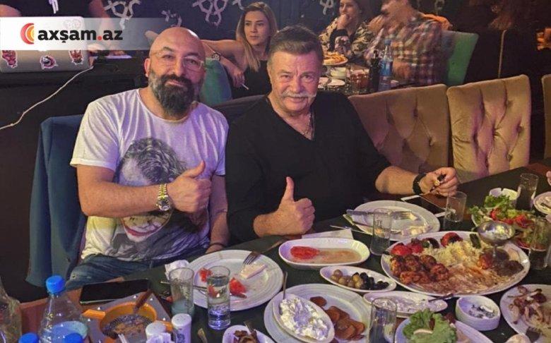 Türkiyənin tanınmış aktyoru Bakıya gəlib