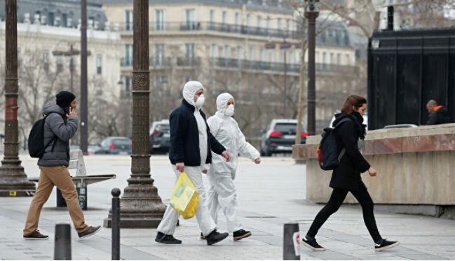 Fransada karantin rejimini pozan 18 min nəfər cərimələnib