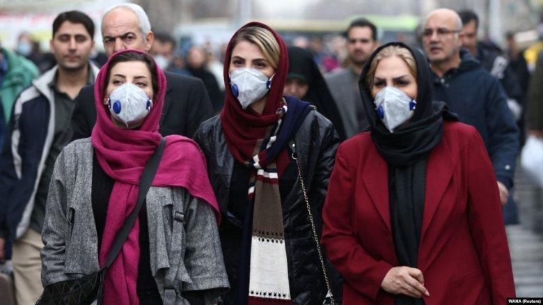 İranda bir gündə 2206 nəfər virusa yoluxub