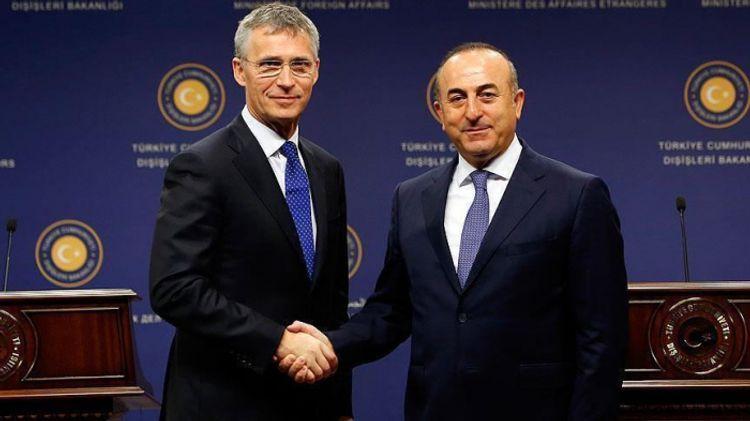 Çavuşoğlu və NATO baş katibi arasında telefon danışığı olub