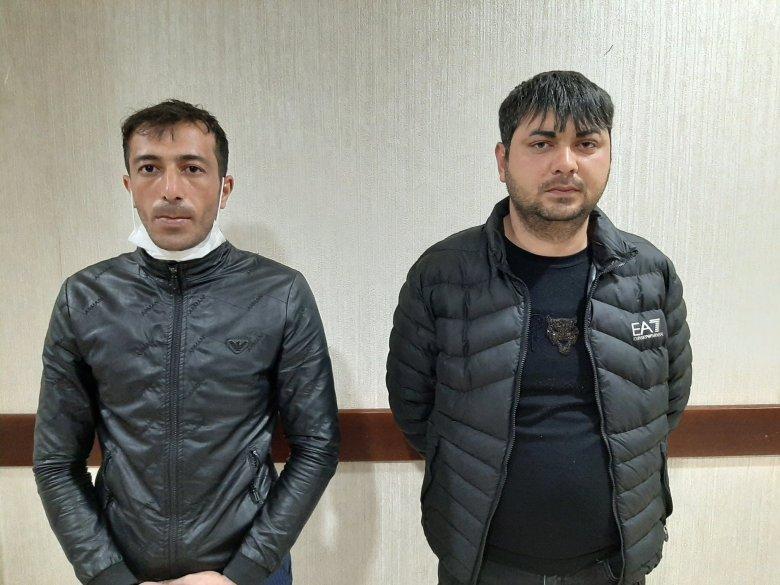 """Bakıya maşının """"baqaj""""ında adam daşıyanlar saxlanılıb"""