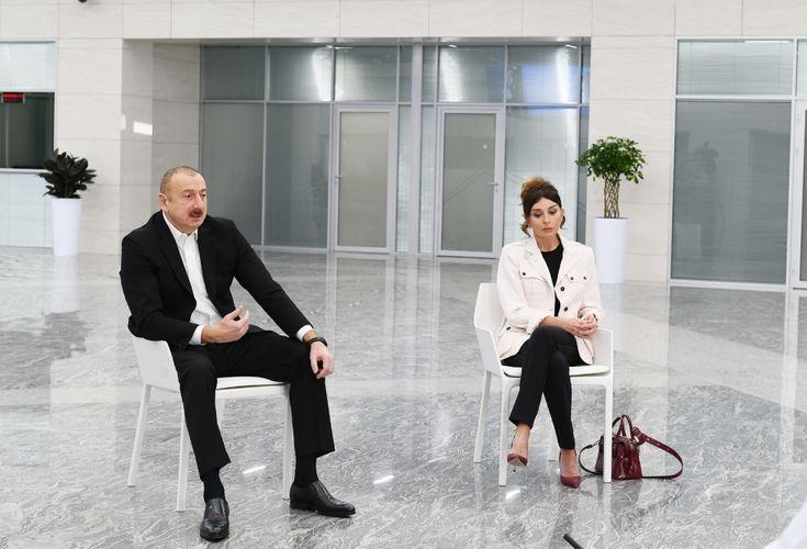 """Prezident və xanımı """"Yeni klinika""""nınaçılışında iştirak edib"""